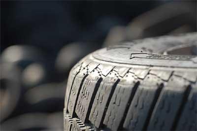 Entsorgung von Autoreifen - Schultz Recycling Kropp