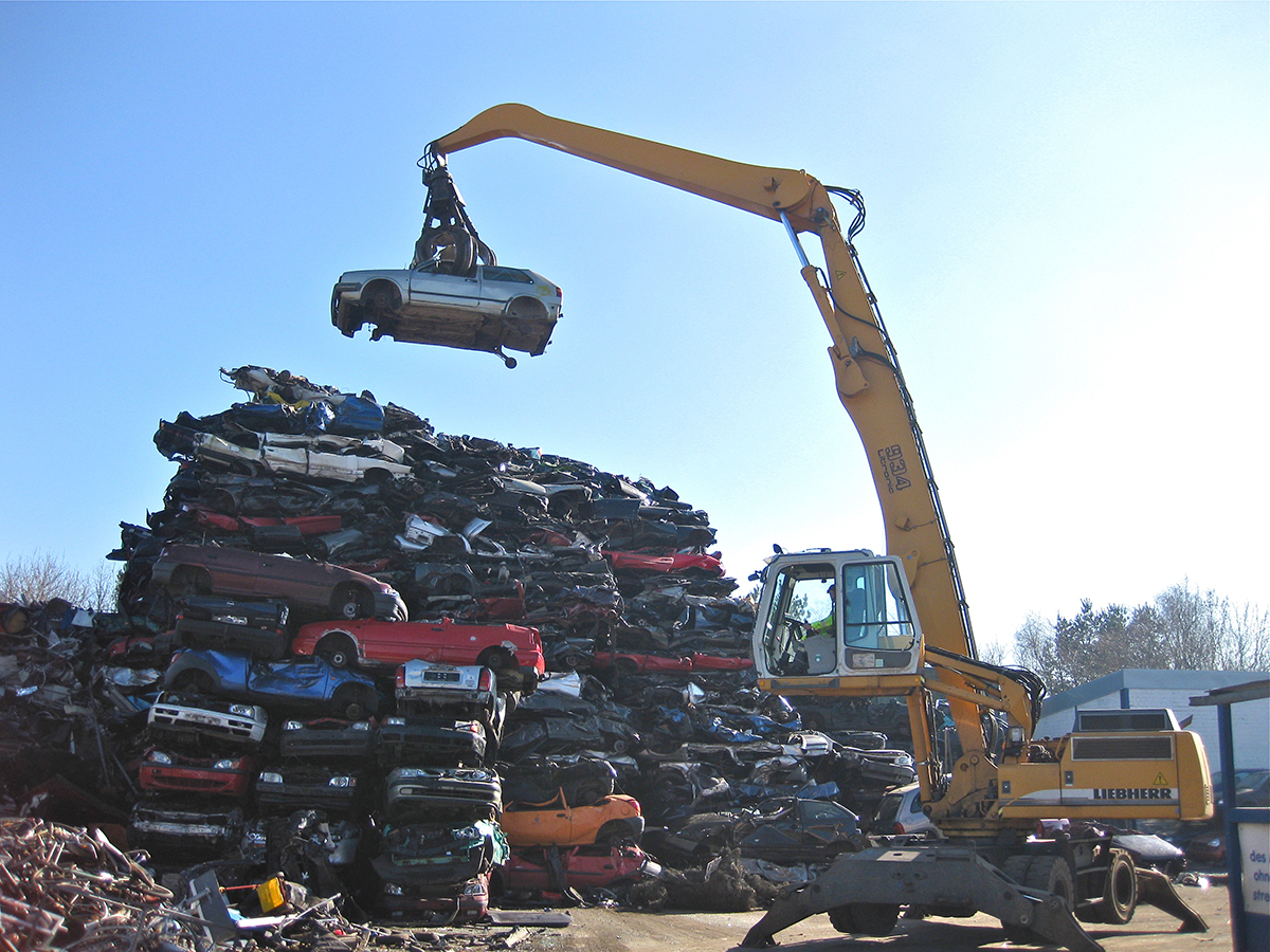 Autoverwertung - Schultz Recycling in Kropp